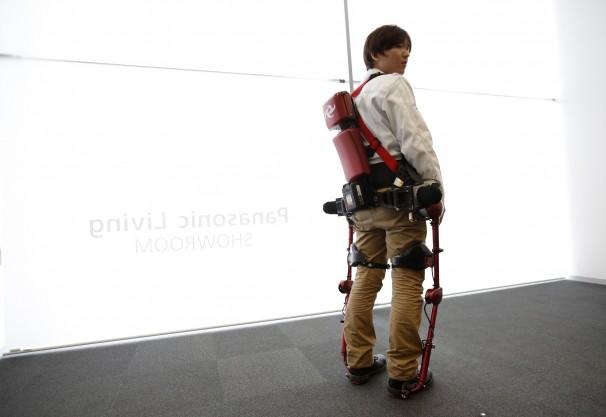 panasonic inflatable exoskeleton